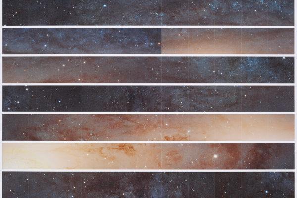 Andromeda Galaxy (glowie edition), 2016